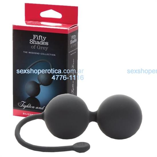 Fifty Shades of Grey Silicone Jinggle Balls