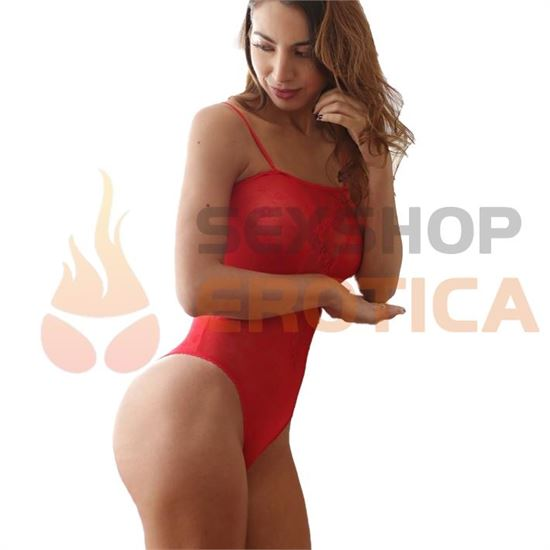 Body de Red Rojo
