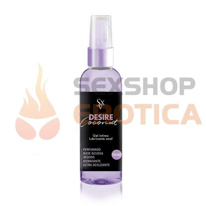 Gel lubricante anal olor a coco